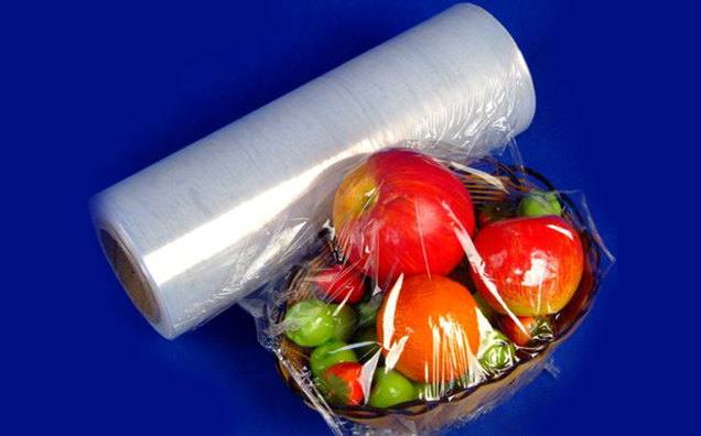 Plastic PE Cling Film for keeping food fresh