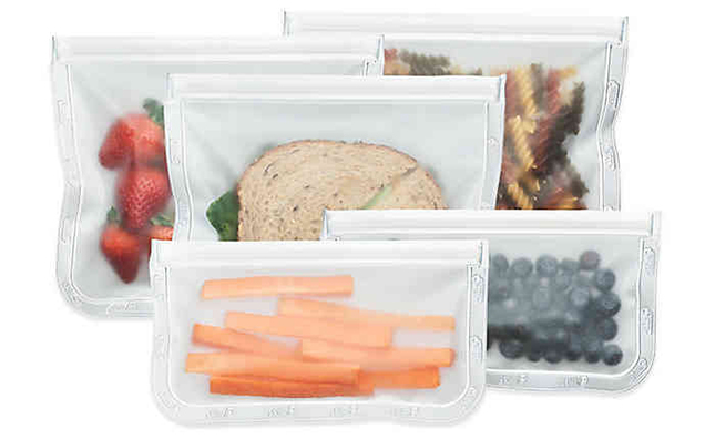 Zipper Seal Vacuum Portion Bags