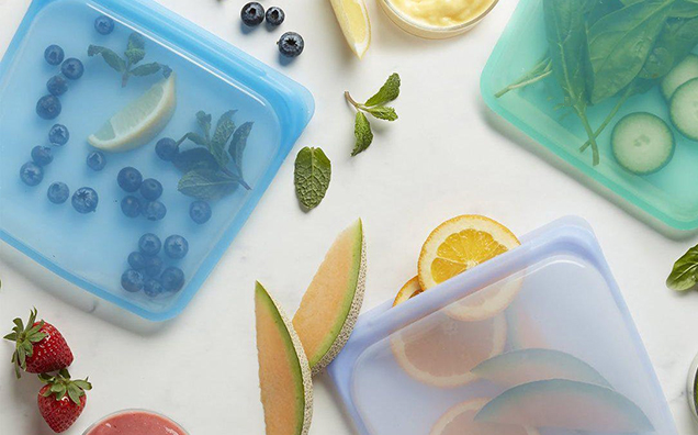 Ziploc Slider Storage Bags with New Technology For Food